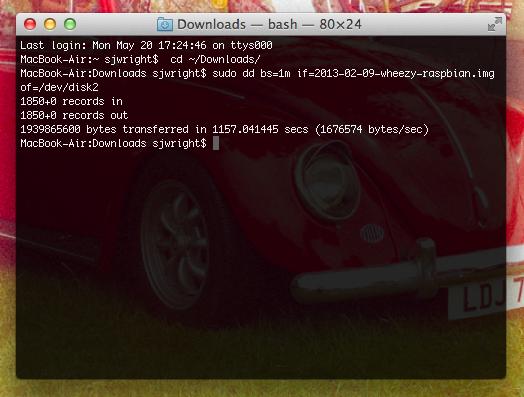 Run Raspbian from a USB Flash Drive