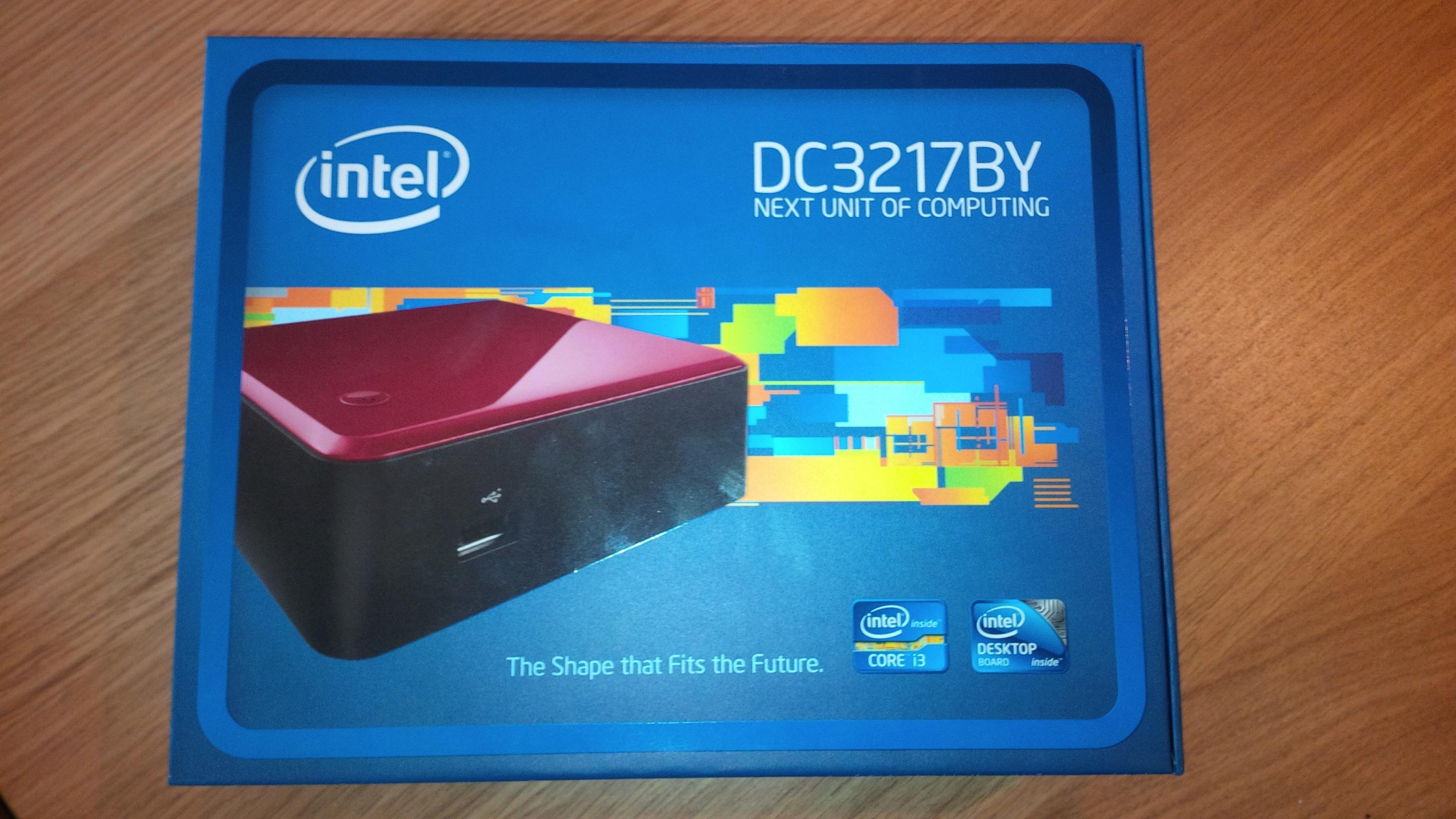 Intel NUC i3 box