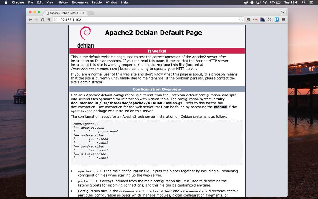 Turn Raspberry Pi into a web server