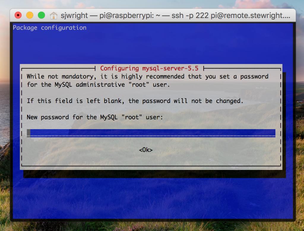Install MySQL Server on your Raspberry Pi