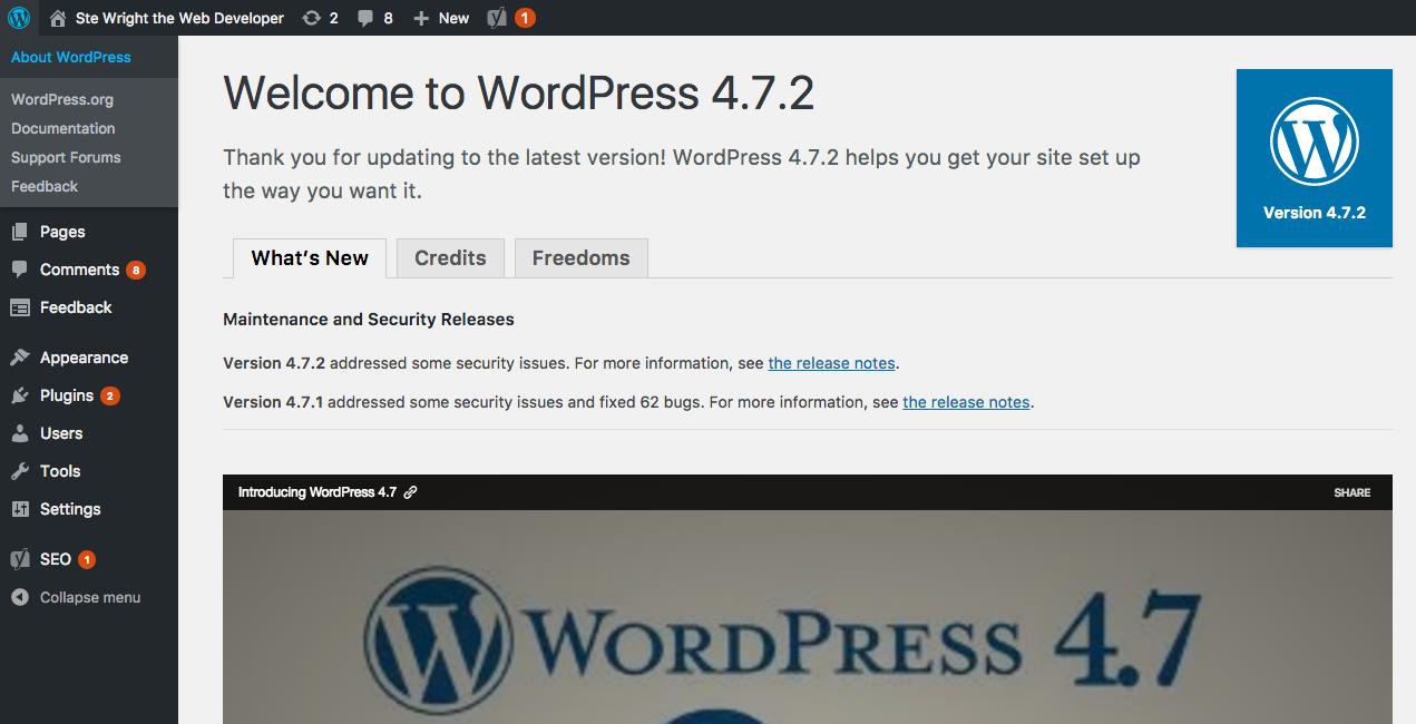 Vulnerability in WordPress 4.7 and 4.7.1