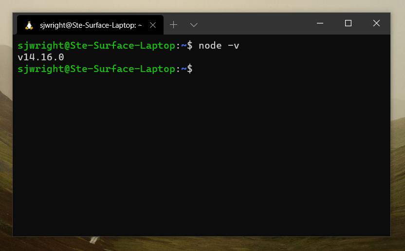 Install nodejs 14 on ubuntu 20.04