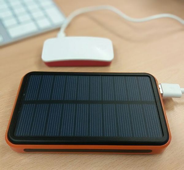 Create a portable battery and solar powered Raspberry Pi Zero web server